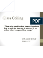 Awais Glass Ceiling