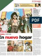 Kusi Kusi, Reportaje en El Peruano (2011)