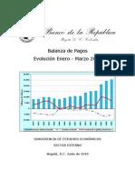 Balanza de Pagos Colombia 2010