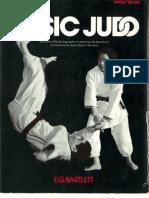 Basic Judo - e g Bartlett