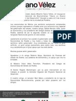 02-03-12 Palabras de Cano Velez en Inauguracion del XIX Congreso Nacional de Economistas
