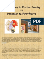 The Truth About... Good Friday to Easter Sunday vs Passover to Firstfruits