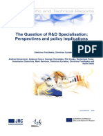 The Question of R&D Specialisation