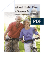 Sen. Rand Paul's Congressional Health Care for Seniors Act