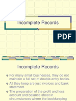 Incomplete Record