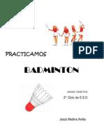 UNIDAD Didactica Badminton