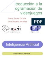 Inteligencia artificial programacion videojuegos