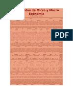 Elementos de Micro y Macro Economía