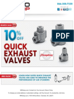 Quick Exhaust Valve Sale