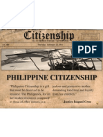 Article IV - Citizenship