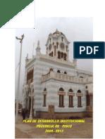 Plan de Desarrollo Institucional PDI