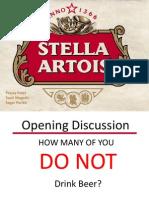 Stella Artois Presentation