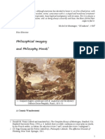 Philosophical Imagery and Philosophy Moods
