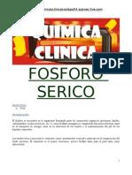 ELECTROLITO-FOSFORO SERICO