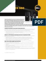 PC de Escritorio Dell Optiplex 580 Brochure (Ingles)