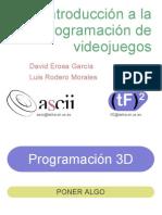 programcion 3d videojuegos