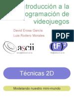 tecnicas 2d programcaion videojuegos