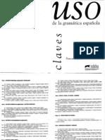 Uso de La Gramatica Espanola Intermedio Key