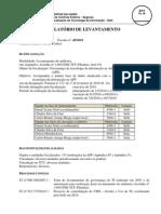 Relatório do Levantamento Governança de TI 2010