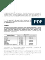 Acuerdo de 14 de Marzo Cortes Ejercicios