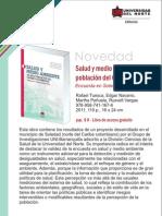 Salud y medio ambiente en una población del Caribe colombiano. Encuesta en Soledad (Atlántico)