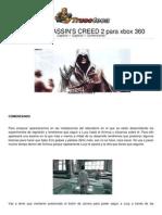 Guia Trucoteca Assassins Creed 2 Xbox 360