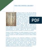 Breve Historia Del Idioma Arameo