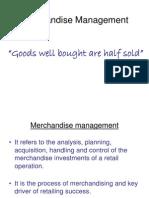 7 Merchandise Management Class