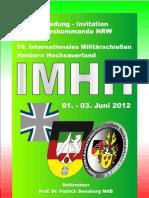 Ausschreibung IMHH 2012