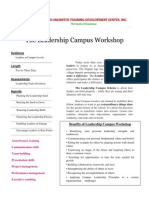 The Leadership Campus Workshop