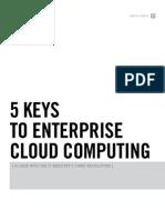 5 Keys Enterprise Cloud Computing