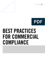 Best Practices for Commercial Compliance