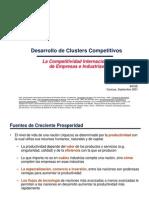 Desarrollo de Clusters Competitivos