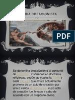 TEORIA CREACIONISTA