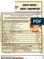 Sandwich Menu June 25 2010