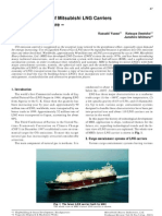 Key Technologies of Mitsubishi LNG Carriers