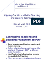 Teaching and Learning Framework PowerpointII