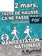 Affiche 2 - Manifestation nationale 22 mars 2012