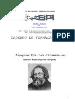 AnarcoColetivismo - O Bakuninismo - BPI