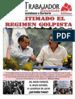 Honduras - El Trabajador Socialist A - 84