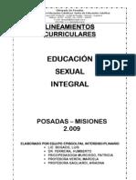 Contenidos Curriculares Para Educ Sex Int