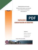 Trabajo de Proteccion Civil