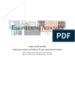 Wikibooks Engineering_Acoustics 1st Ed. April 2006