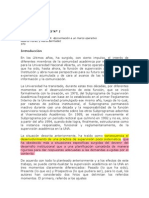 Caso de Análisis  N° 1 Educación a Distancia en la Universidad Nacional Abierta de Venezuela