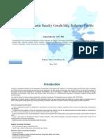 China Daily Plastic Sundry Goods Mfg. Industry Profile Cic3082