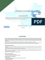 China Dynamo Dynamo Group Mfg. Industry Profile Cic3911