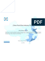 China Fruit Wine Industry Profile Cic1529