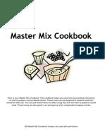 master mix cookbook