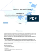China Gas Turbine Mfg. Industry Profile Cic3513