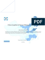 China Graphite Talcum Mining Industry Profile Cic1092